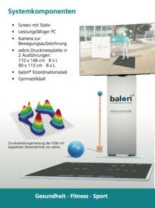 Balori Gleichgewichts-Meßsystem