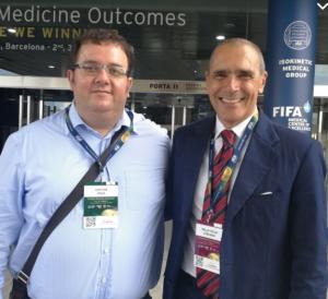 Stavros Avgerinos mit Dr.Stefano Della Villa