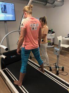 Annekatrin Thiele zu Tests im Sportwissenschaftlichen Institut der DGSZM