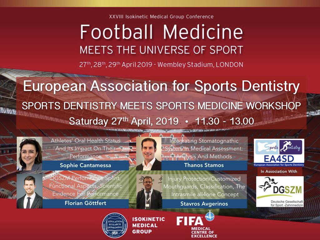 Football Medicine, Kongress vom 27.04.2019